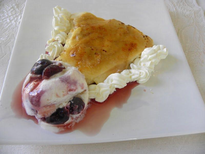 Baked Ryzogalo me Karamela (Rice Pudding with Caramel)