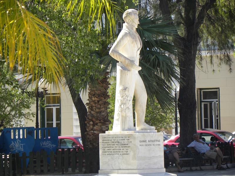 Capodistrias statue in Nafplio image