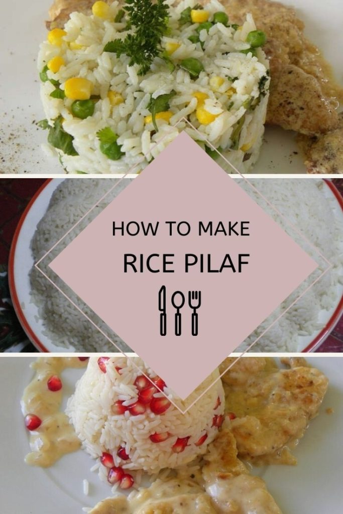 Collage Classic Rice Pilaf image