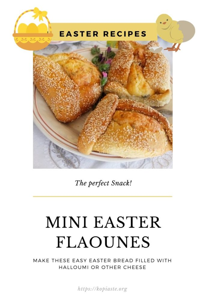 Collage Easter flaounes image