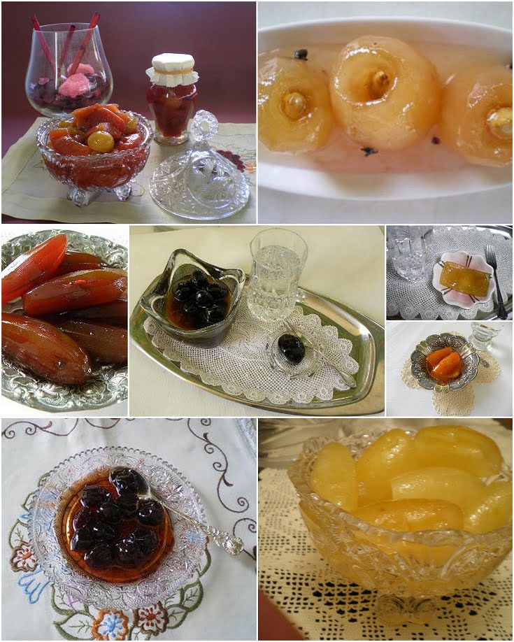 Collage Fruit preserves image