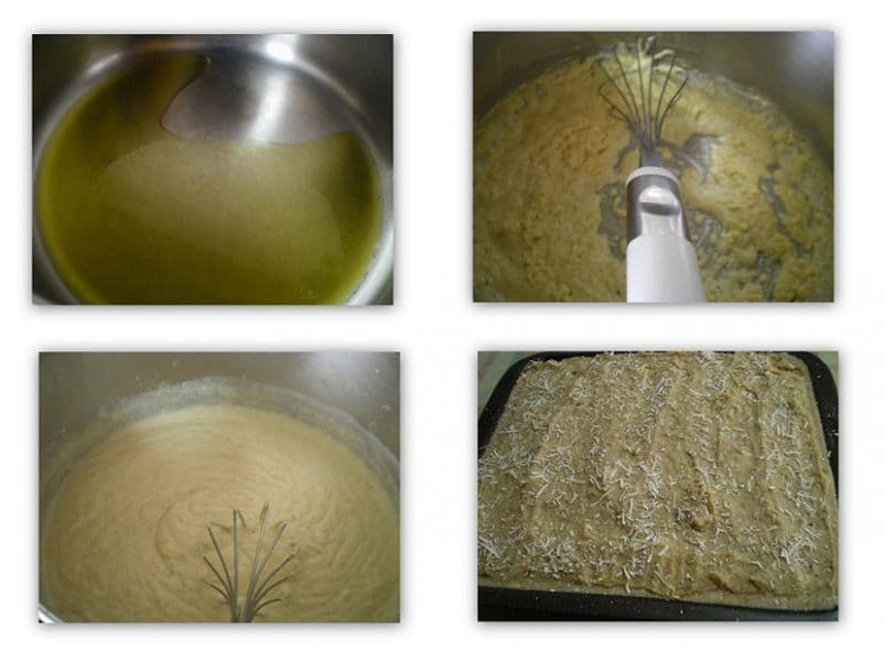 Collage bechamel sauce image