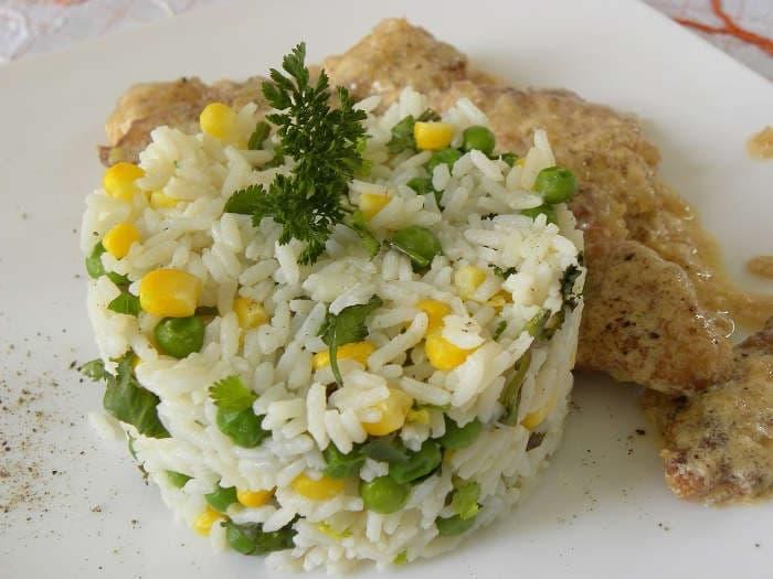 Herbed rice pilaf image