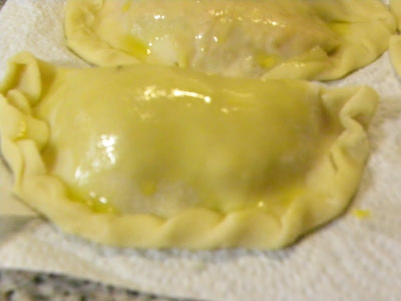 Kolokotes brushed with olive oil picture