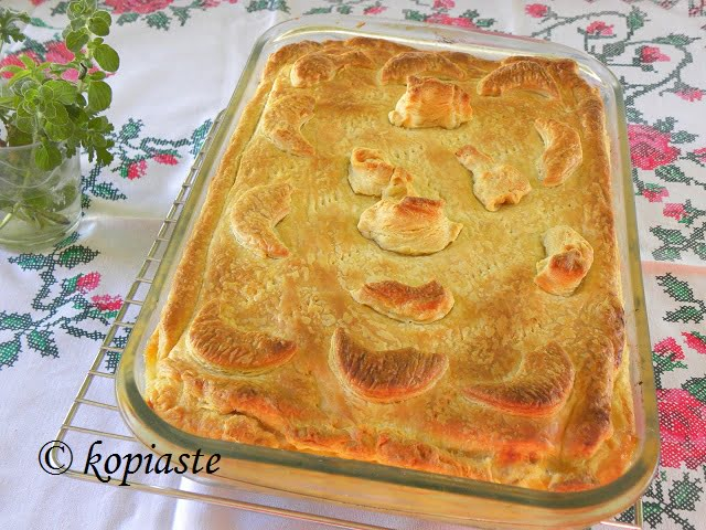 Kotopita with Puff Pastry picture