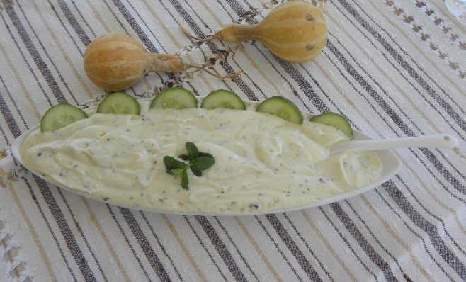 Minty Yoghurt and Tahini Sauce image