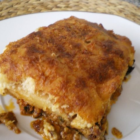 Moussakas cut image
