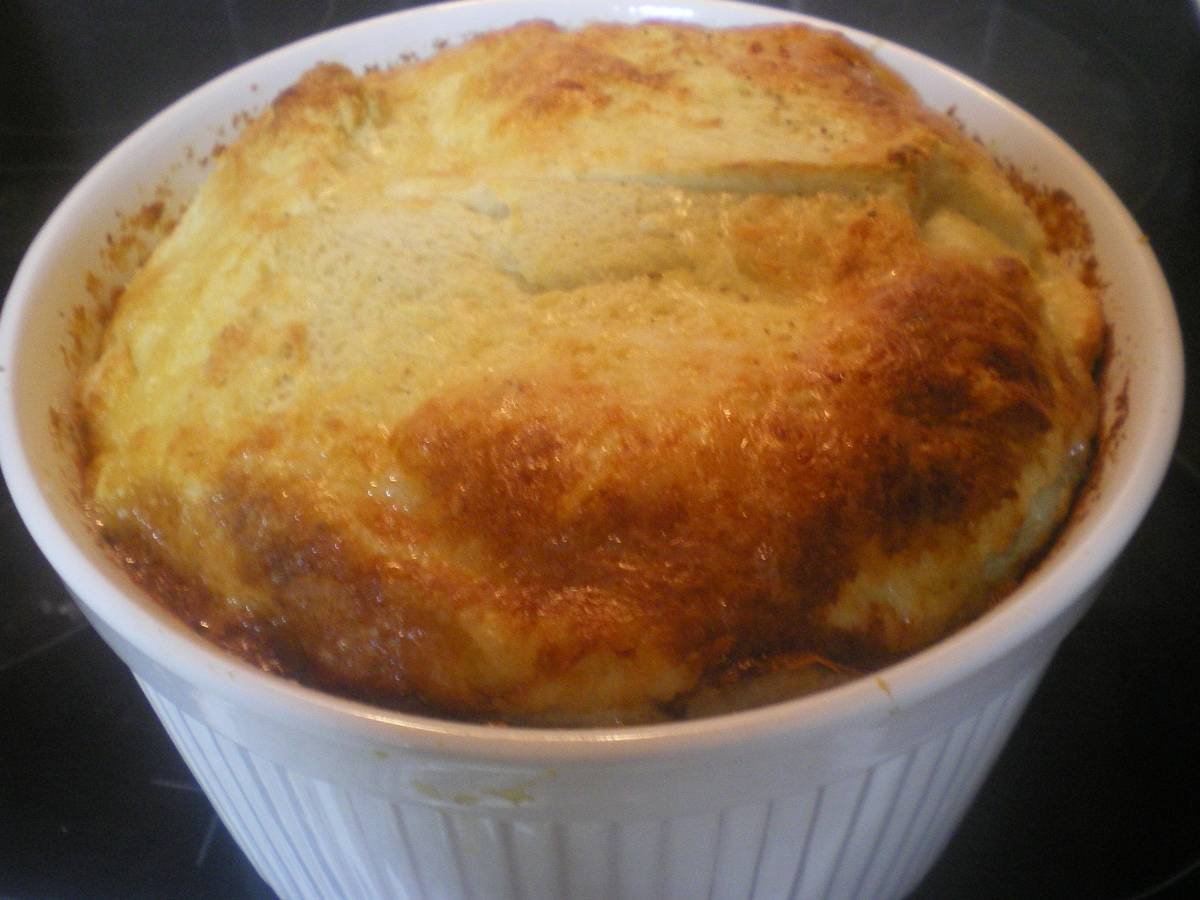 Cheese Souffle and How do I grate soft cheese