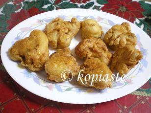 Kounoupidi me Hylo (Fried Cauliflower in batter)