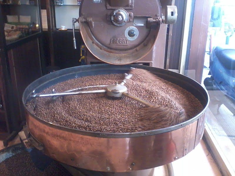 Coffee roasting image