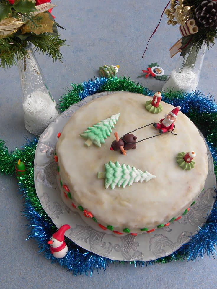 Collage Christmas cake image