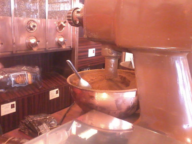 Grinding Greek coffee image