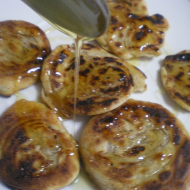 Pischies (fried pastry) with video