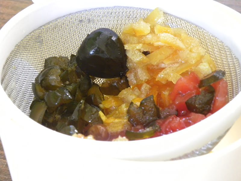 Preparing fruit preserves image
