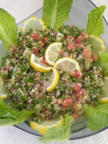 Tambouli Salad, Tabouli or Tabbouleh