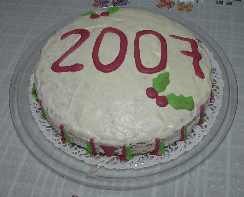 Vassilopita (New Year's Cake)