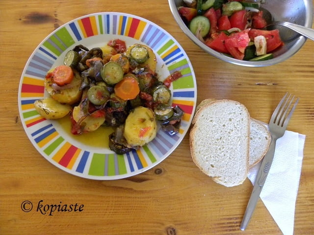 Briam (baked Vegetable Medley)