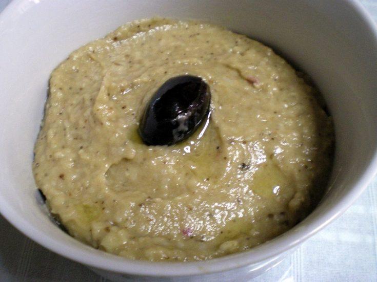 Melitzanosalata or Eggplant salad