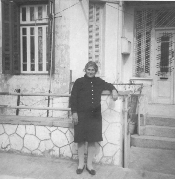 My Mom at Lykourgou street image