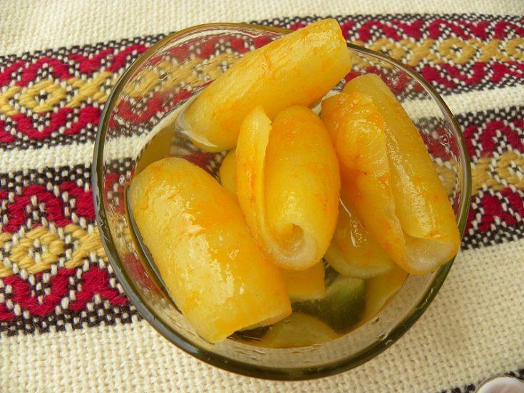 Glyko Bergamonto (Bergamot Fruit Preserve)
