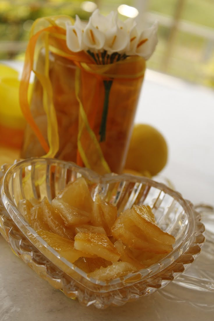 Lemon preserve photo