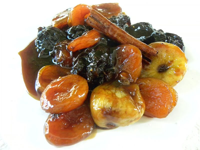 Marinated & Caramelized Poached Dried Fruit image