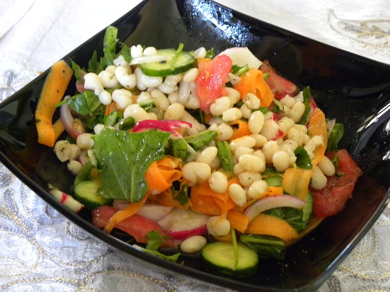 Kathara Deftera or Clean Monday and Fasolia Feneou Crunchy Salad