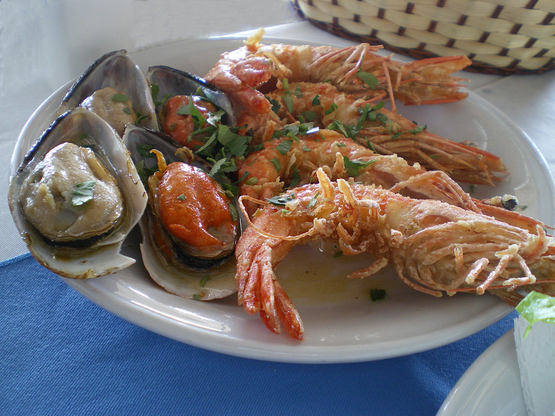 Seafood mezes image