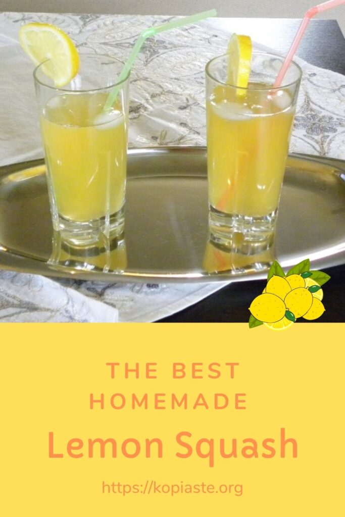 Collage Homemade Lemon Squash image