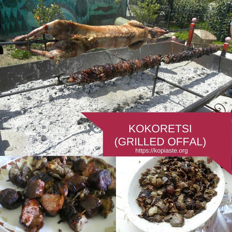 KOKORETSI (GRILLED OFFAL) IMAGE