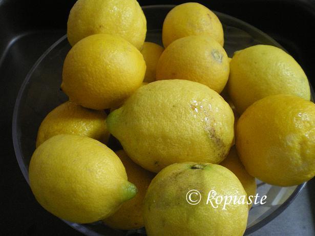 When God gives you Lemons make Lemonada (Lemon Squash) and of course Brandy Sour
