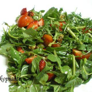 Rocket and watercress salad image