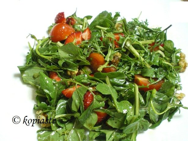 Rocket and watercress salad image