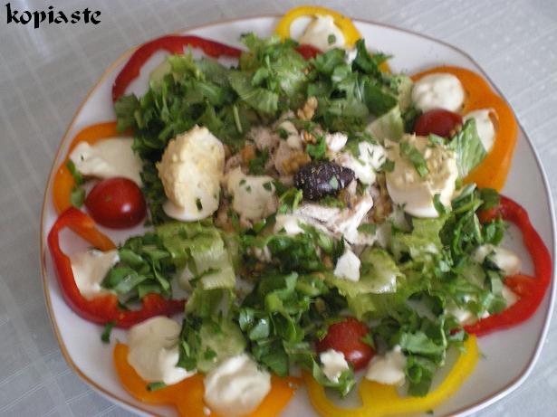 Chicken Salad with Veggies