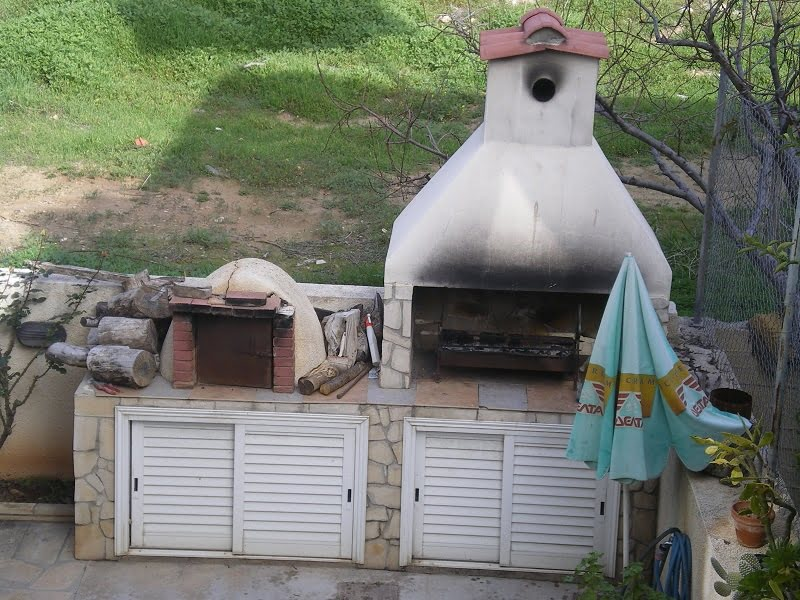 Wood fired oven and barbecue image