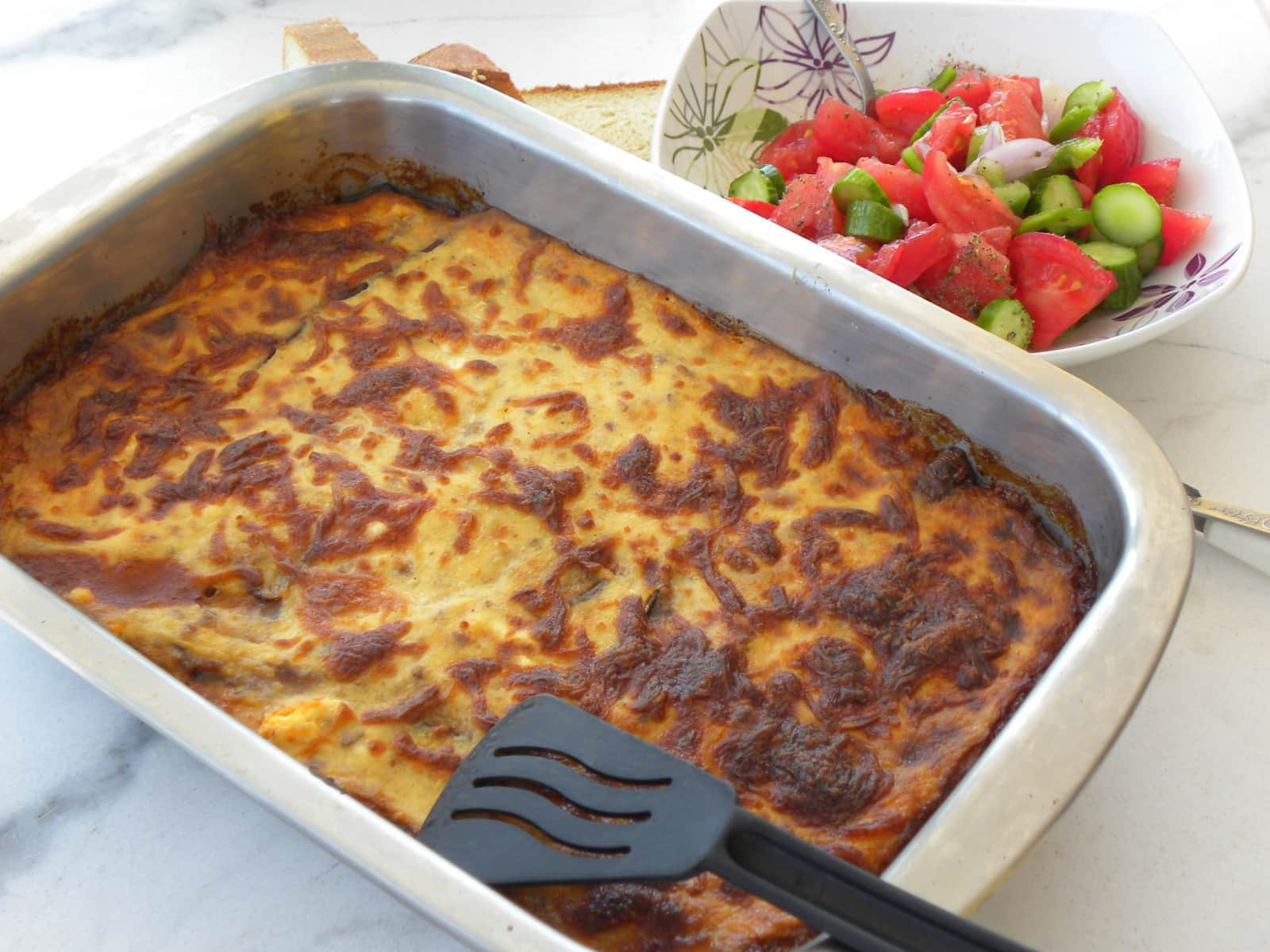 makaronia tou fournou or Pastitsio image