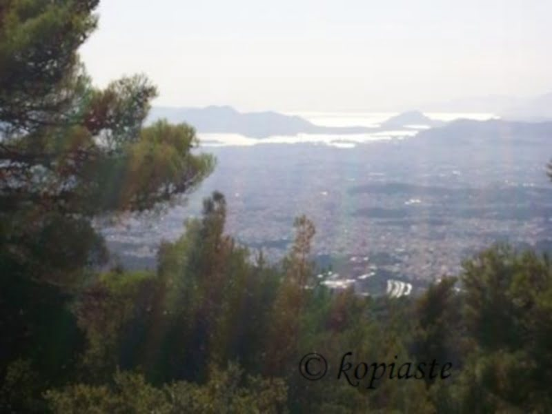 View from Hymettus mountain image
