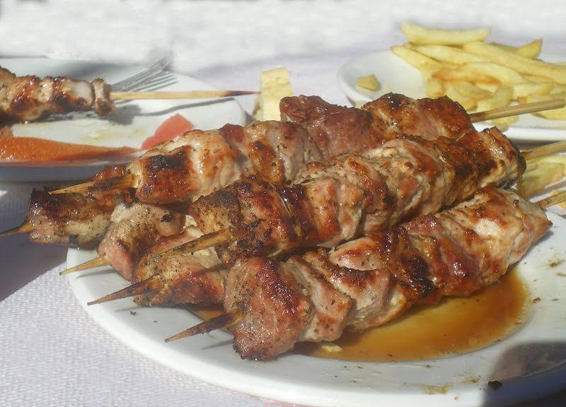 pork souvlakia image