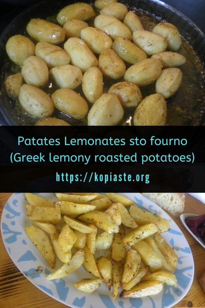 Collage patates lemonates picture