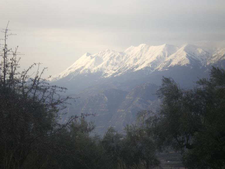 Taygettus during winter image
