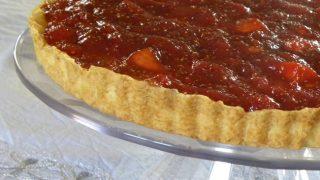 Fig and Peach Anthotyro Cheese Tart and 6 Years Blog Anniversary