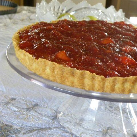 Fig Cheese tart image
