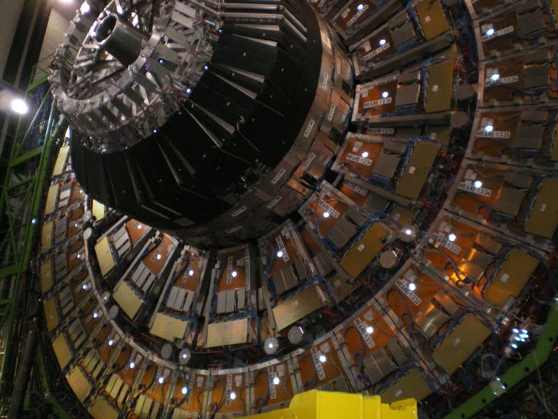 Large Hadron Collider photograph