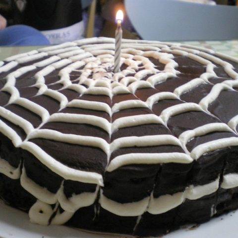 Cob Web Cake picture