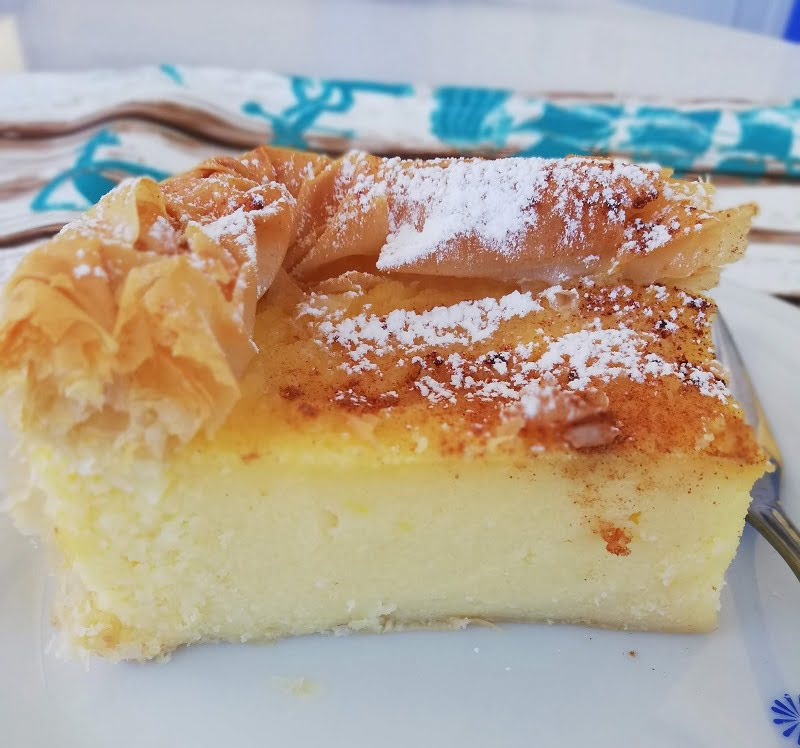 Galatopita new with phyllo