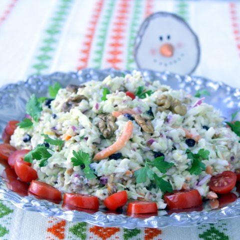 Lahanosalata coleslaw image