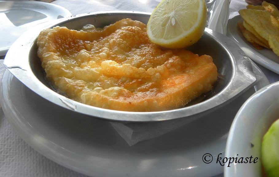 Saganaki cheese image