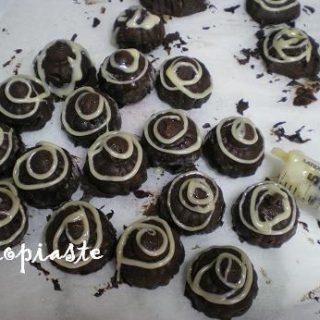 decoration on chocolates image