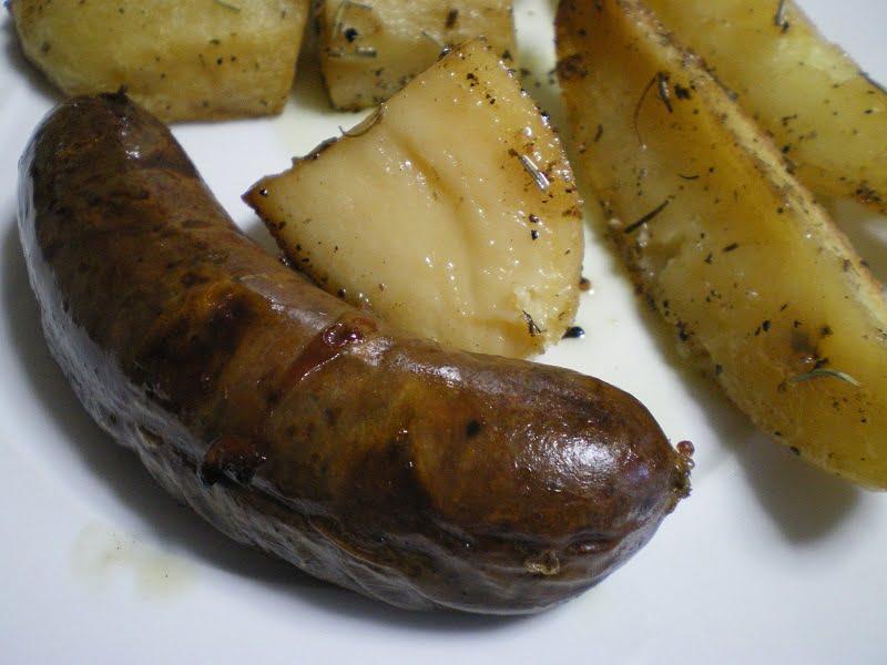 Spartiatika Loukanika (Spartan Sausages)
