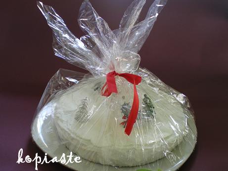 White Christmas Fruit Cake